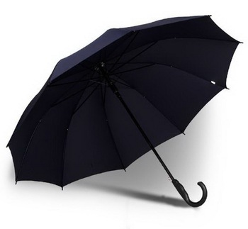 double people long-handled Large umbrella /commercial /Windproof/Comfortable/multi-function/umbrella/Non-slip handle/181107