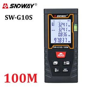 Image 3 - SNDWAY Digital Laser rangefinder distance meter ruler 40M 50M 60M 70M 80M 100M 120M trena finder tape range finder tester Tool