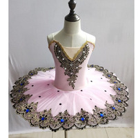 Girls Ballet Dancing Dress Swan Lake tutus Costumes wear Ballerina dance Dress Kids Ballet Dress Ballroom dancing Outfits