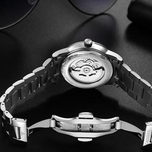 Image 5 - CADISEN Men Watch Automatic Mechanical Watches Japan NH36A Role Date Week Top Luxury Brand Wrist watch Clock Relogio Masculino