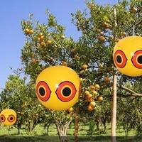 Globos de ojo de miedo repelente de aves para Pest problemas de aves rápido fiable Visual de control doméstico suministros