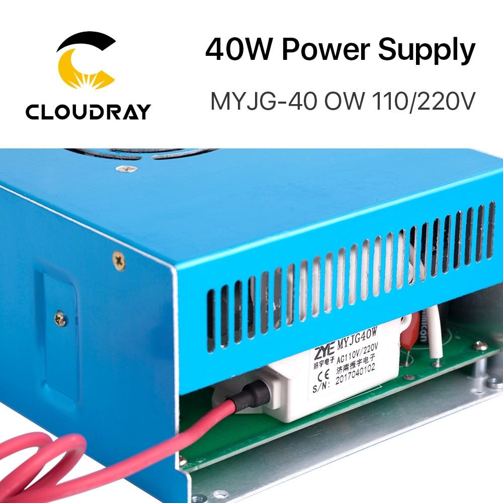 Alimentatore laser CO2 Cloudray 40W 110 V / 220 V per macchina da - Parti di macchine per la lavorazione del legno - Fotografia 3