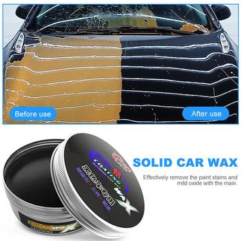 цена на Senior Black Car Wax Polish Paint Care Waterproof Scratch Repair Car Maintenance Crystal Hard Car Wax Polish Scratch Remover