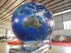 3M Aufblasbare helium erde ball für bildung und dekoration und werbung