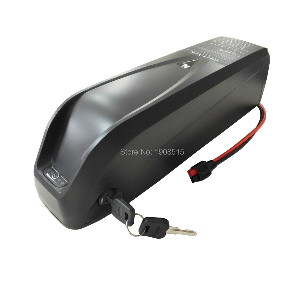 Купить с кэшбэком EU US NO TAX Hailong Battery 36V 48V 52V 10.4Ah 11.6Ah 12Ah 13Ah 14.5Ah 15Ah 17Ah 20Ah 24Ah down tube ebike battery pack