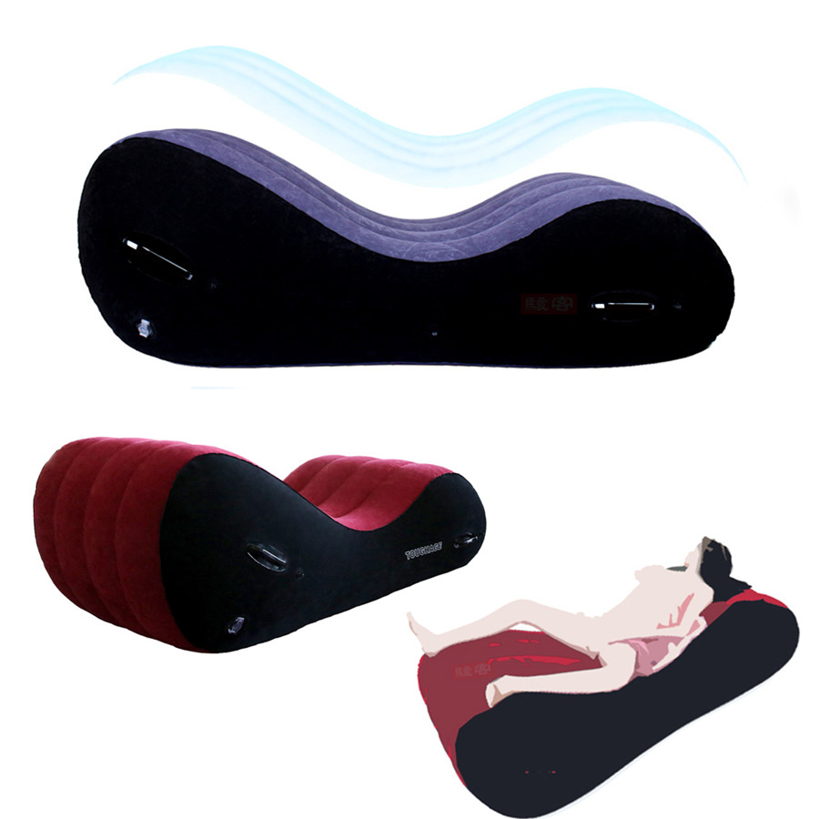 Надувной диван Toughage, S-подушка, складная кровать, мебель для взрослых, БДСМ стул, сексуальные позиции, подушка на клиновидном плате, подушка д...