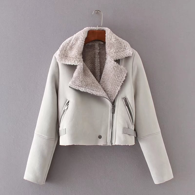 European women clothing wholesale fur integration fund autumn winters with thick jacket, coat direct selling undertakes