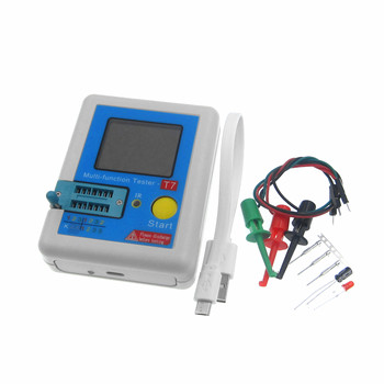 LCR-TC1 LCR-T7 TC-T7-H T7 Display Transistor Tester Multifunctional TFT Backlight Diode Triode Capacitance LCD Screen Meter фото
