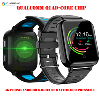 Smart 4G Remote Camera GPS WI FI Tracer Kid Student Elder Heart Rate Wristwatch Video Voice Recorder Monitor Android Phone Watch