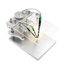 BDM зонд адаптеры ЭБУ рампа для KESS KTAG FGTECH V54/BDM100 Матрица для режима отладки для центрального блока системы электропитания программатор ЭБУ чип Тюнинг инструмент из нержавеющей стали Программирование кронштейн
