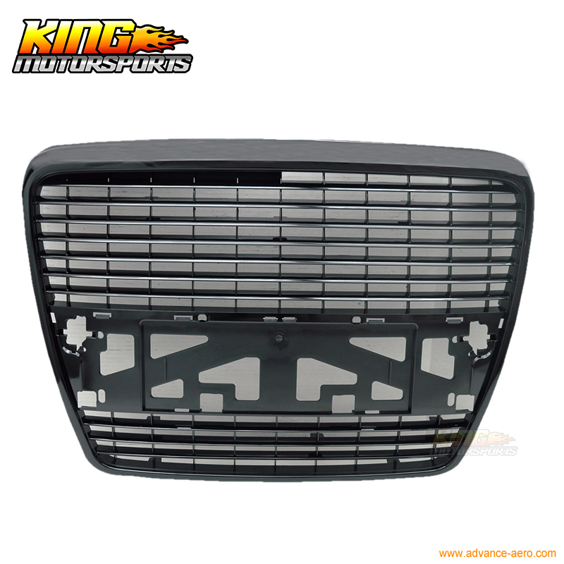 For 2005 2009 Audi A6 Black Front Grill Grille Sedan 4 Door New 05 06 USA Domestic Free Shipping Hot Selling|grill machine|grill badge|grilling steak gas grill - title=