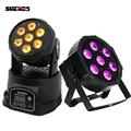 SHEHDS LED Moving Head Light Wash 7x18 Вт RGBWA + UV DMX 12/16 каналов сценический свет для DJ ночной клуб Вечеринка Dicso световой эффект
