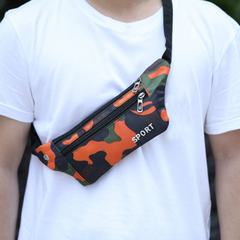 New Fashion Waist Bag Men Women Messenger Storage Bags Chest Pack Outdoor Sports Running Bag Mobile Phone Bag Unisex 2020