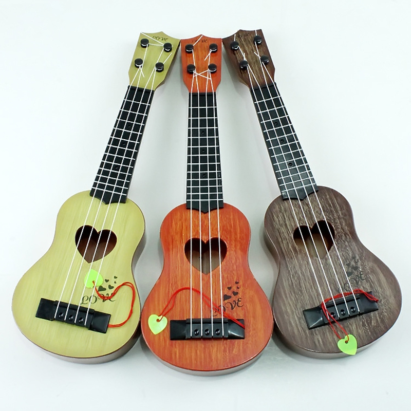 Beginner Classical Ukulele Guitar Educational Musical Instrument Toy for Kids Early Education &T8