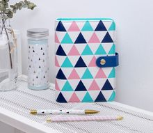 все цены на Undated DIY Fashionable PU Spiral A6 Diary DIY Undated Planner Gift Free Shipping онлайн