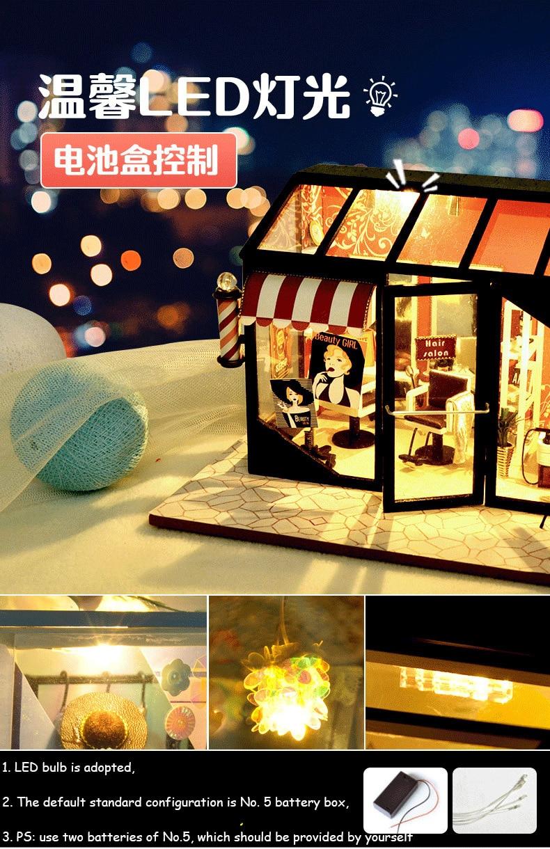 H5a9779433bd543948801b7c723e203dek - Robotime - DIY Models, DIY Miniature Houses, 3d Wooden Puzzle