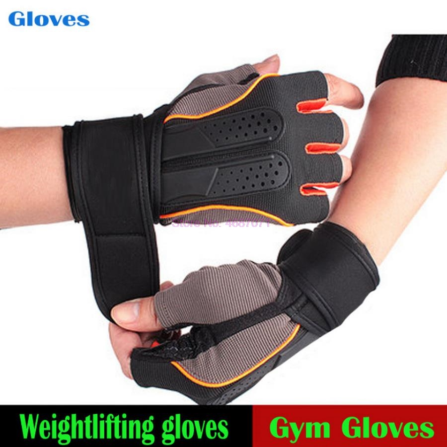 Cycling-Gloves Dumbbell Extended Lifting Wrist Half-Finger Sports 200pairs