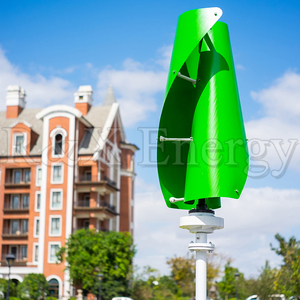 Image 2 - VAWT Turbine éolienne verticale 400w/600w 12v/24v en option, spirale, 3 couleurs, générateur avec contrôleur de charge MPPT pour la maison