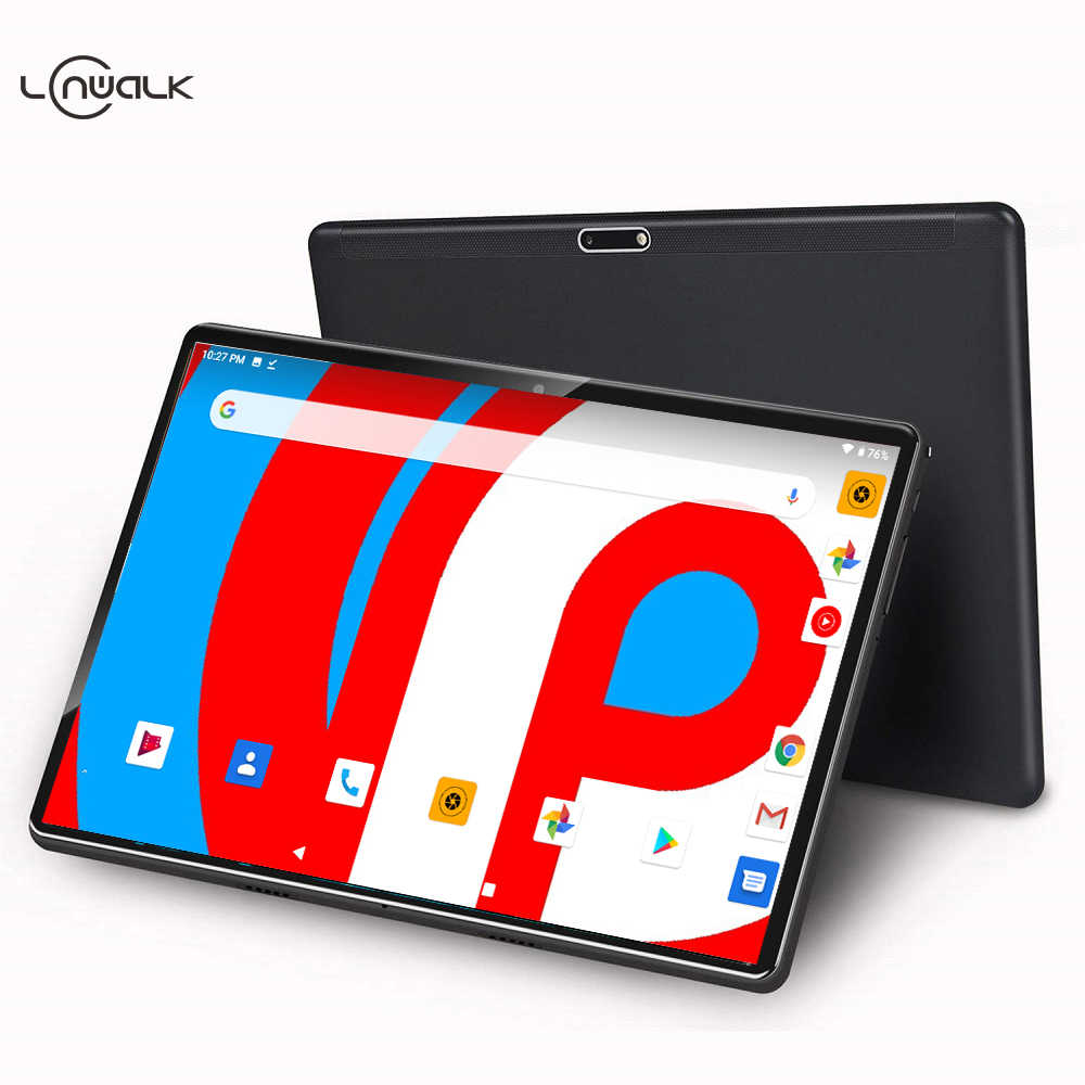 2020 neueste 10 inch Tablet PC Android 9,0 64GB ROM Quad Core 4 Kerne Dual Kameras 5,0 MP 1280*800 IPS Telefon Tabletten + 64GB TF Karte