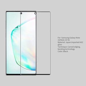 Image 2 - Dla Samsung Galaxy Note 10 + Pro szkło hartowane NILLKIN 3D CP + MAX folia ochronna na ekran dla Note10 pro uwaga 10 Plus 5G szklany