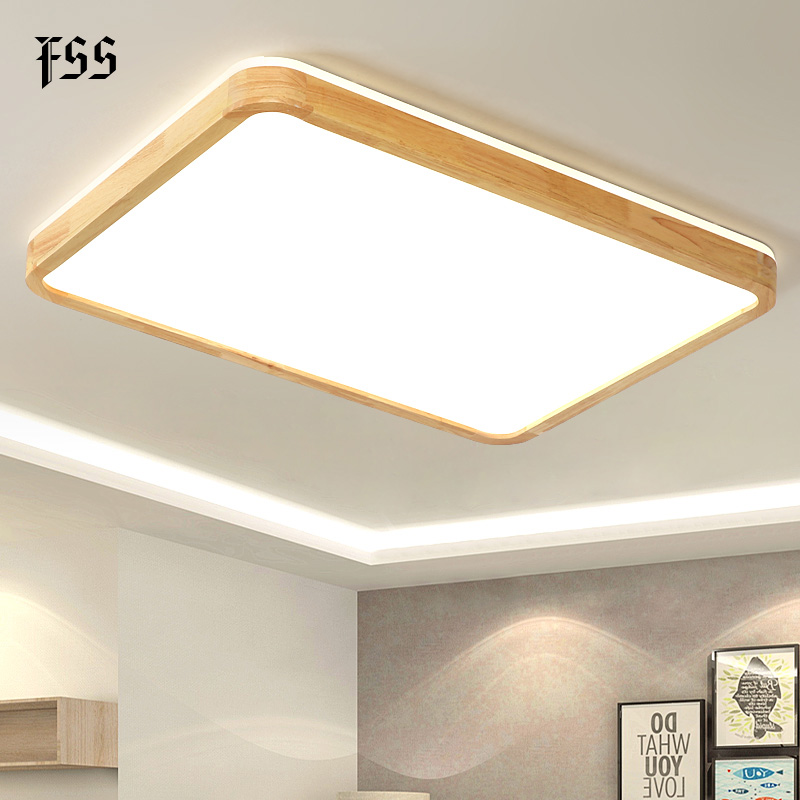 Modern Led Ceiling Lights For Living Room Led Lights Decoration Lamps Lighting Wood Simple Light Fixtures Indoor Light Led Ceiling Lights Aliexpress