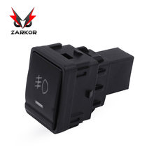 Zarkor Fog Light Switch for Nissan Fog Lamp 12V 4Pin IP68 Waterproof LED Push Driving Light Bar On Off Rocker Toggle Switch(China)