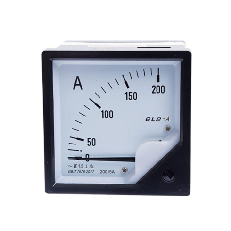 30A-500A AC DC Амперметр аналоговая панель измеритель тока Высокоточный чувствительный указатель четкий циферблат Амперметр Датчик тока