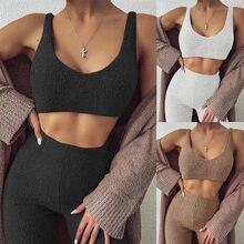 NewAsia – ensemble deux pièces pour femmes, pull-over, Cardigan, Robe tricotée, manteau, salon, costume décontracté