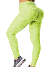 Sexy butt Lift Leggings High Waisted Yoga Pants Seamless Booty Leggings  Women In Stretch Pants Soft Pineapple Workout Active active net yarn wave point pattern high waisted leggings
