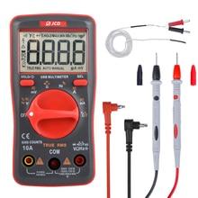 QHTITEC UM16 Digital Multimeter Volt Meter Auto Ranging TRMS 6000 Counts Measures Temperature Voltage Tester with Backlight