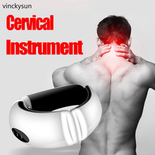 Cervical Collar Neck Support Massager Traction Therapy