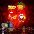 Портативный светильник для проектора на Рождество  Хэллоуин  двойная трубка  водяной знак  светодиодный светильник для проекта  10 цветов  20 ...