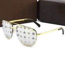Luxury Brand Cool Punk Sunglasses Women 2020 Vintage Pilot Sun Glasses Men Oculo