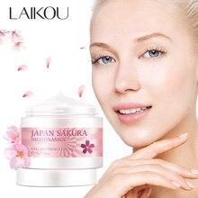 Лайко, Япония, никотинамид Sakura Essense, контроль жирности, осветление, омоложение, отбеливание кожи, уход за кожей, сыворотка для лица