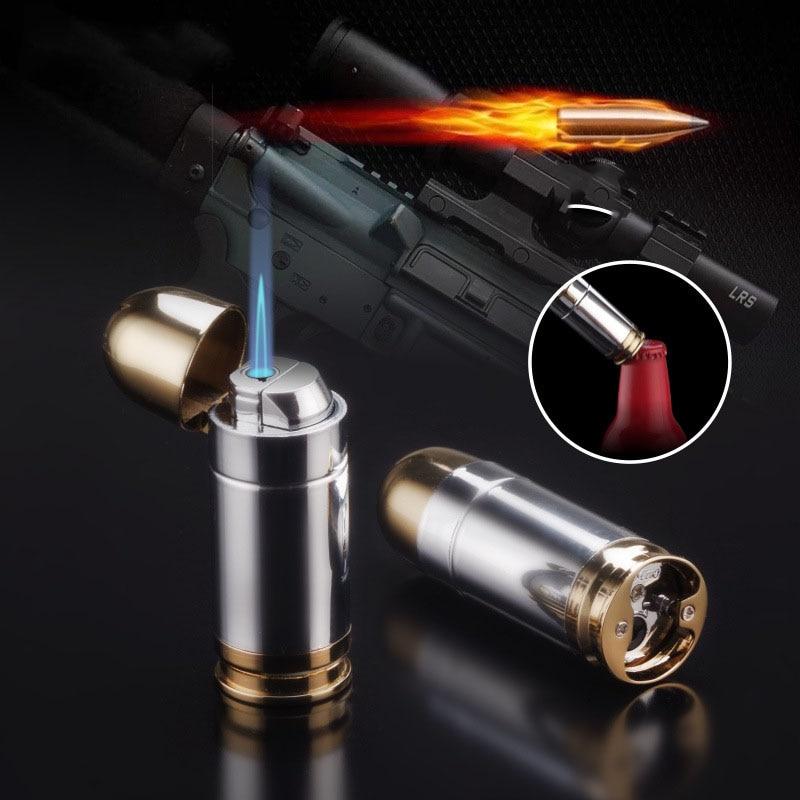 Купить прохладная металлическая ветрозащитная бутановая зажигалка в