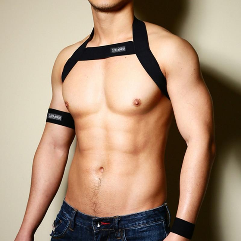Hot Men Harness Body Chest Belt Lingerie Mens Sexy Elastic