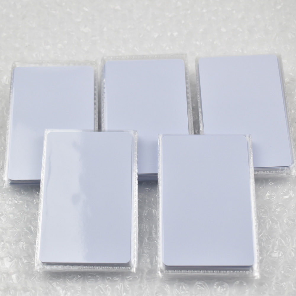 5pcs UID Changeable Nfc Card With Block 0 Rewritable For Mif 1k S50 13.56Mhz Credit Card Size Chinese Magic Backdoor Commands