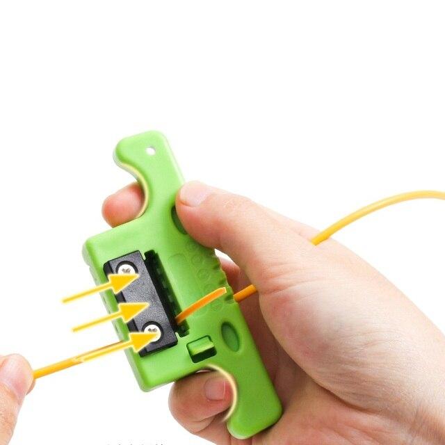 Fiber Optic Kabel Stripper Optische Jacke Rollenschneider Gleiche wie miller Stripper MSAT5