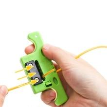 สายไฟเบอร์ออปติกStripper Optical Jacket Slitterเช่นเดียวกับMiller Stripper MSAT5