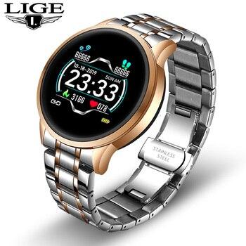 2020 New stainless steel Digital Watch Men Sport Watches Electronic LED Male Wrist Watch For Men Clock Waterproof Bluetooth Hour 12