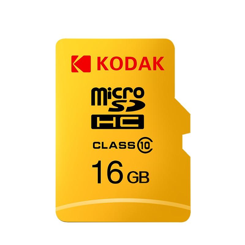 Kodak Micro tarjeta SD de alta velocidad de 32GB 64GB Clase 10 U3 4K cartao de memoria de 128GB, tarjeta de memoria Flash 256GB mecard Micro sd kart