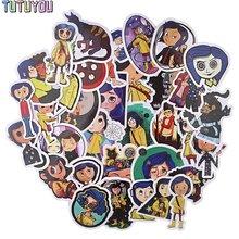 Pc1909 35 шт/компл креативные наклейки с героями мультфильмов