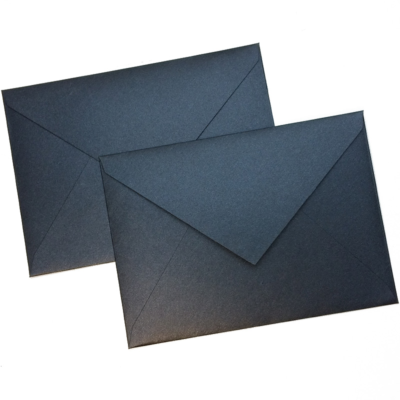 10pcs/lot European Retro Envelopes Business Envelopes Planner DIY Accessory 163mmX116mm 4 Colors For Invitation