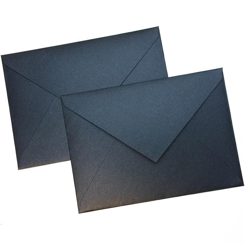 10pcs/lot European Retro Envelopes Business Envelopes Planner DIY Accessory 163mmX116mm 4 Colors For Invitation