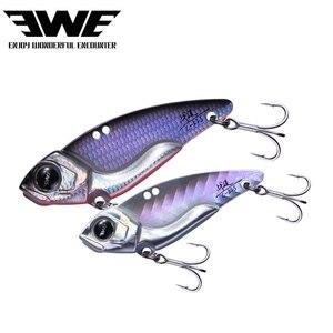 EWE Brand FIGHT Metal crankbait Vib Blade jig fishing lure sinking vibration cicada jigging baits vibe for bass pike perch fish