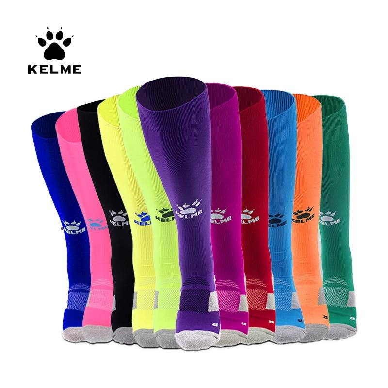 KELME Sport Socks Men Soccer Socks Anti Slip Football Socks Cotton Stockings Good Quality Breathable Male K15Z908