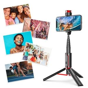 Image 5 - Cafele ワイヤレス bluetooth selfie スティック huawei 社 iphone xiaomi 拡張可能折りたたみ一脚電話のカメラリモコン