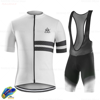 2020 Summer Cycling Jersey Men Style Short Sleeves Cycling Clothing Sportswear Outdoor Mtb Ropa Ciclismo Bike Clothing Triathlon tanie i dobre opinie RAUDAX 100 poliester Lycra polyester Spandex Krótki rękaw Factory direct sales 80 poliester i 20 lycra ropa ciclismo hombre