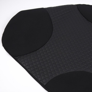 Image 3 - AUTOYOUTH 2PCS Front Seat Covers Black Sports Seat Covers PVC Fabric Car Seat Cover Universal Interior Accessories For TOYOTA