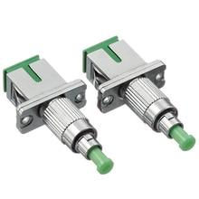 Sc Vrouw Naar Fc Mannelijke Glasvezel Adapter, Apc Single Mode Simplex Fiber Optic Adapter